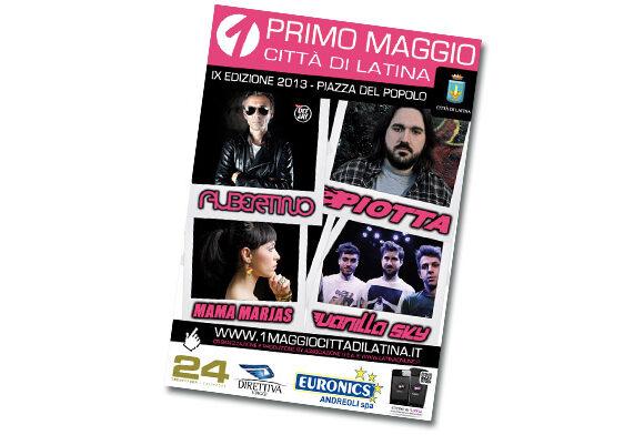 locandina 1 maggio latina 2013